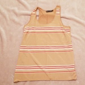 Outback Red womens orange tank Medium